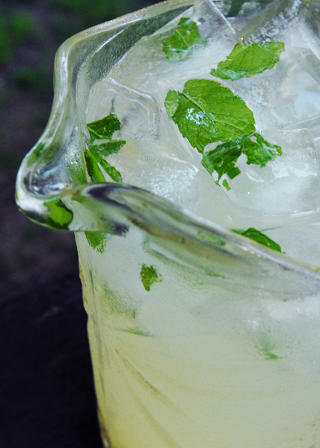 I like to use rum to help dilute the limeade