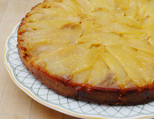 Pear upside down cake with sorghum, spice and everything nice | Rufus ...