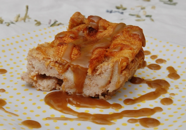 New Orleans Bread Pudding with Bourbon Sauce Recipe ...