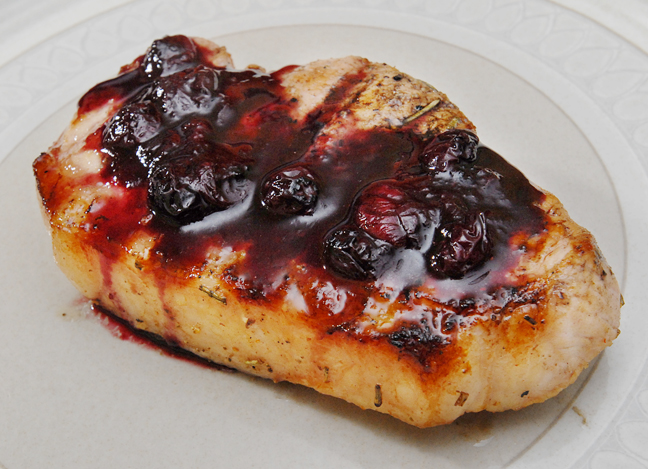 The Savory Chops Mix So Well With The Sweet Sauce