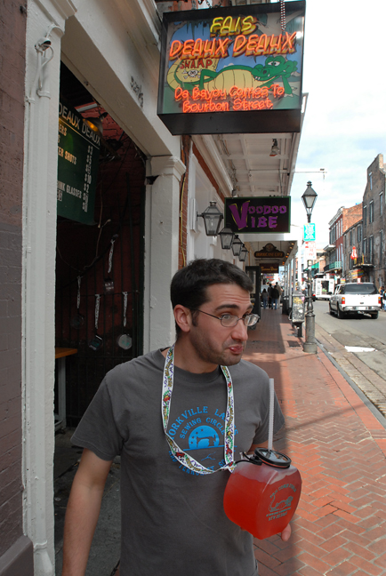 Hurricanes absinthe and american history rufus 39 food for Bourbon street fish