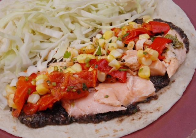 It really works on tacos with a black bean sauce