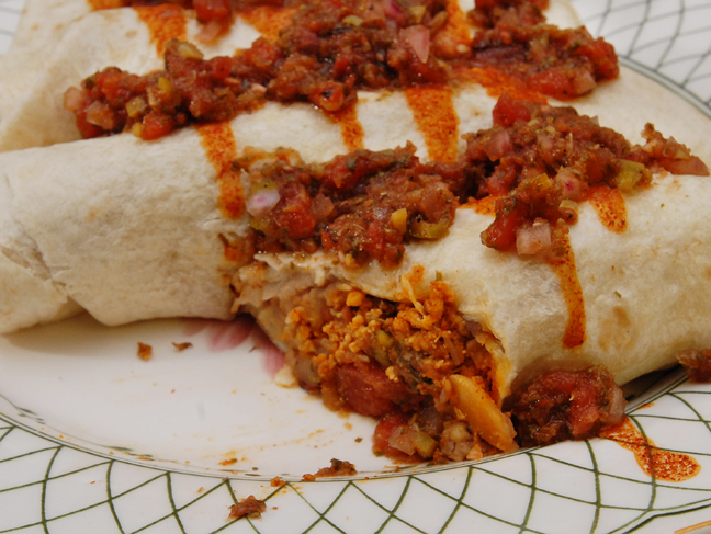 Breakfast Burrito | Rufus' Food and Spirits Guide