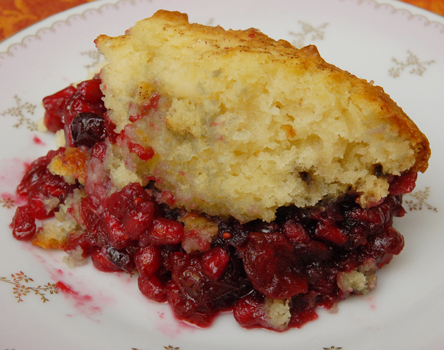 Cranberry and Pomegranate Cobbler | Rufus' Food and ...