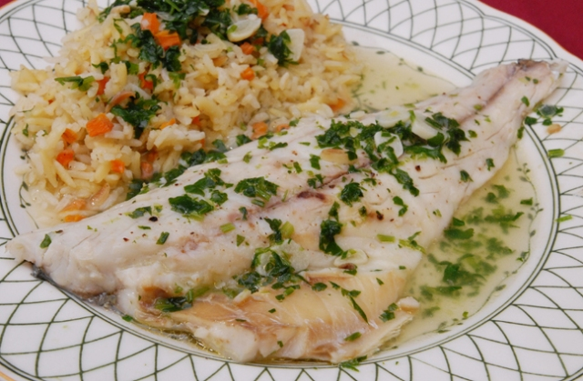 The fillets can be cut into smaller servings if desired before cooking