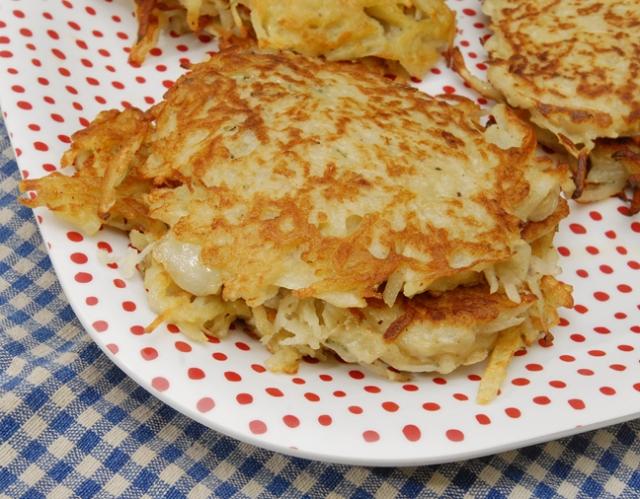 It's hard to get them as round as a regular pancake