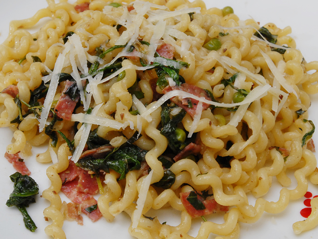 Toss Around the Pasta | Rufus' Food and Spirits Guide