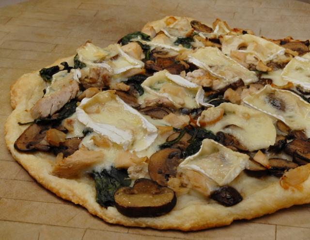 Not really pizza but still yummy