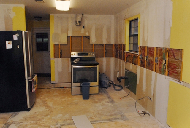 Actually this is the final kitchen we are going for the backwoods look