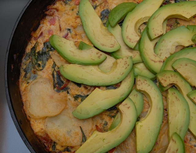 Baked avocado is so creamy and warm