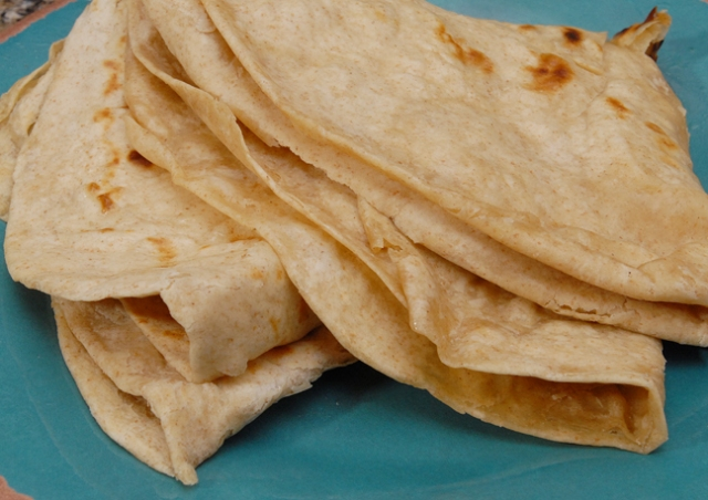 Similar to flour tortillas