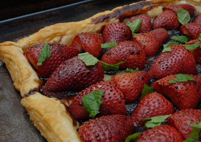 The freshest berry makes the sweetest tart