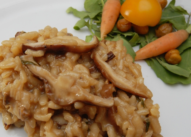 Just another mushroom risotto
