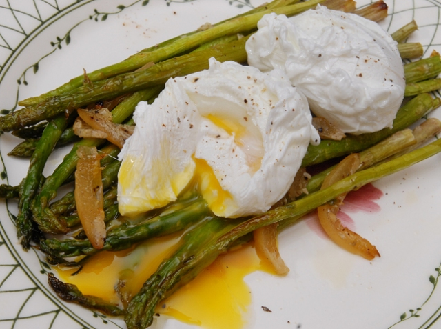 If you don't like your eggs runny then don't poach them