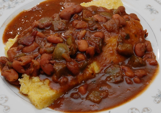 Oh polenta how tasty you are