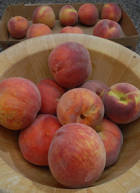Peach season is in full swing