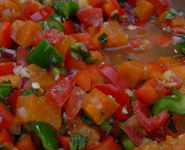 Salsa is considered a condiment