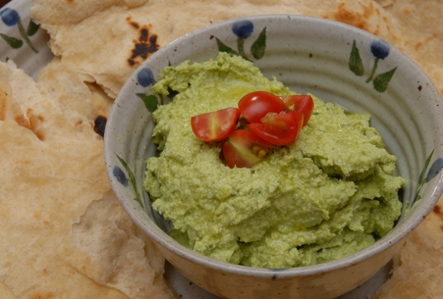 Not the color of hummus