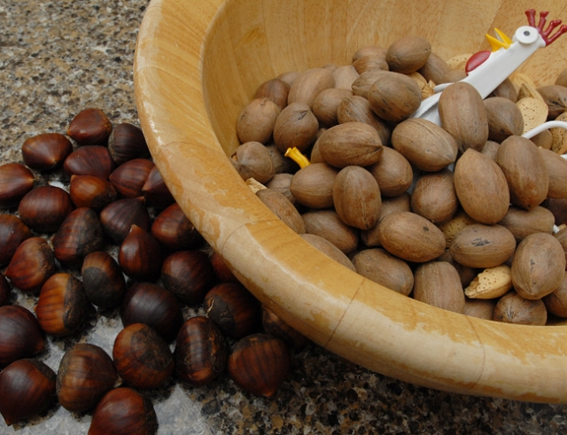 Chestnuts roasted on an open fire will be a reality