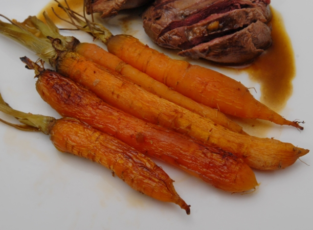 Fresh carrots are the bomb