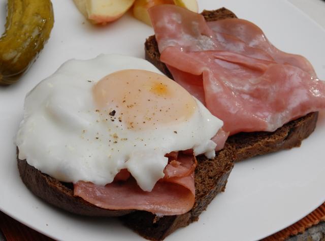 A true breakfast sandwich