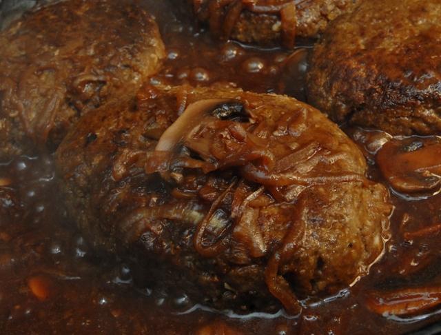 It is shaped like steak